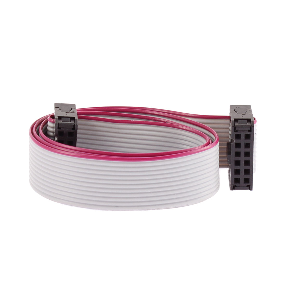 2.54mm Pitch 12 Pins 12 Wires F/F IDC Connector Flat Ribbon Cable 40cm Length