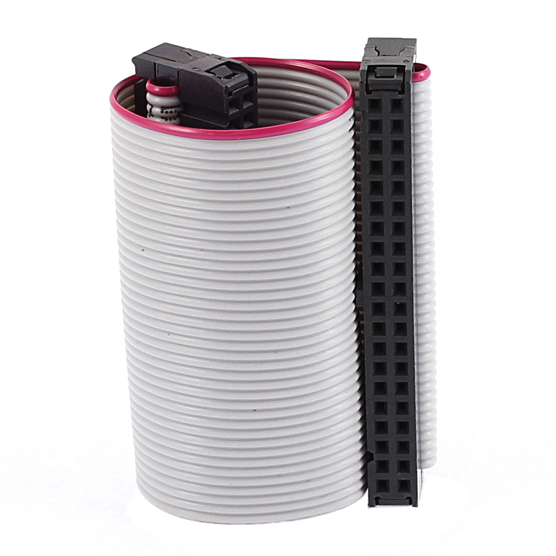 2.54mm Pitch 40 Pins 40 Wires F/F IDC Connector Flat Ribbon Cable 4 Inch Length