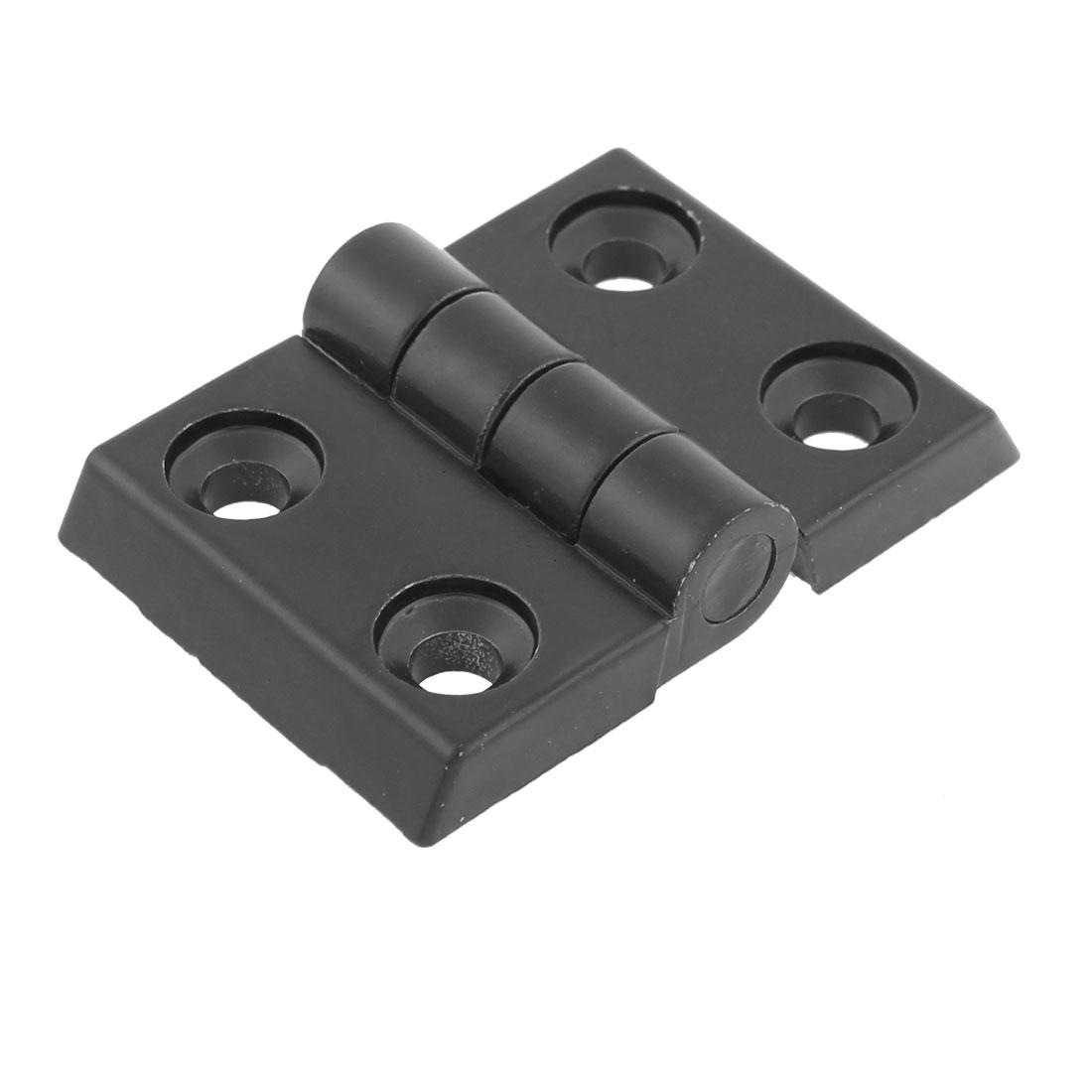 45mmx40mm 2 Leaves Aluminum Door Bearing Butt Hinge Hardware Black