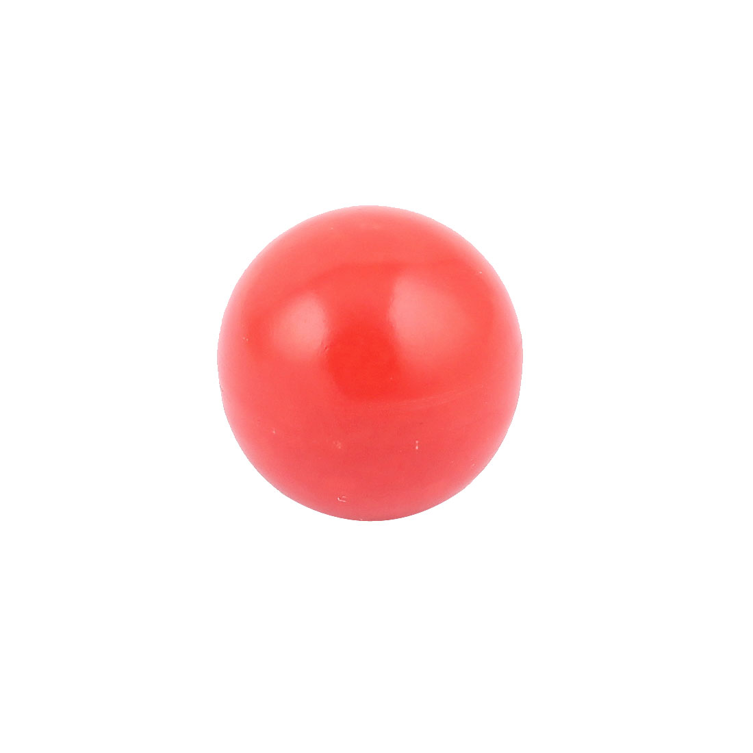Red Round Plastic M8 Thread 32mm Dia Handling Ball Lever Knob