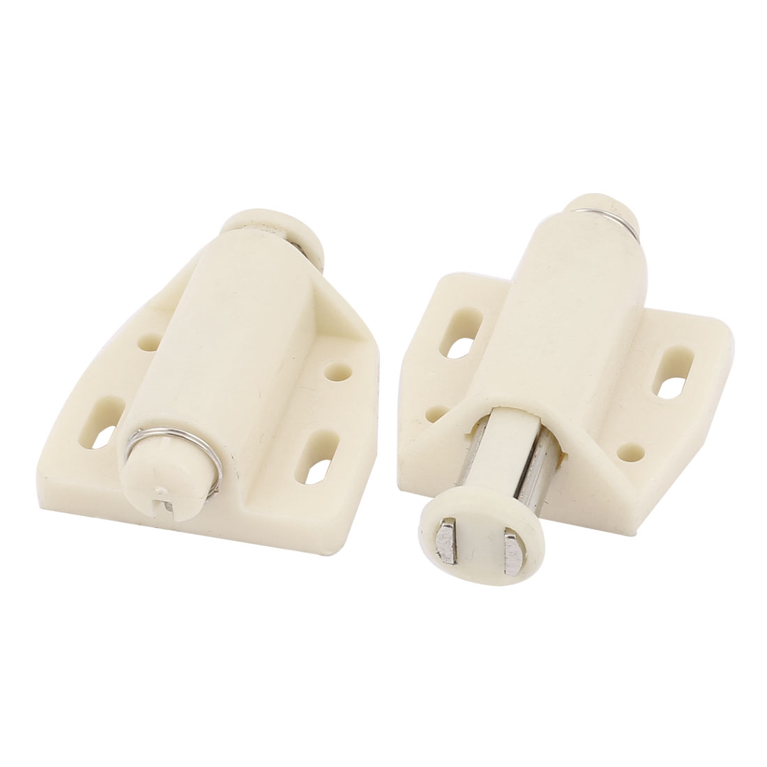 Cabinet Door Drawer Push To Open Magnetic Catch Touch Latch 2pcs
