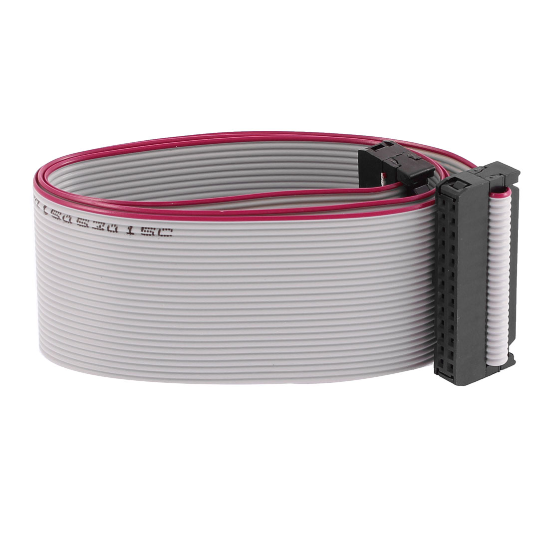 2.54mm Pitch 26 Pins 26 Wires F/F IDC Connector Flat Ribbon Cable 20 Inch Length