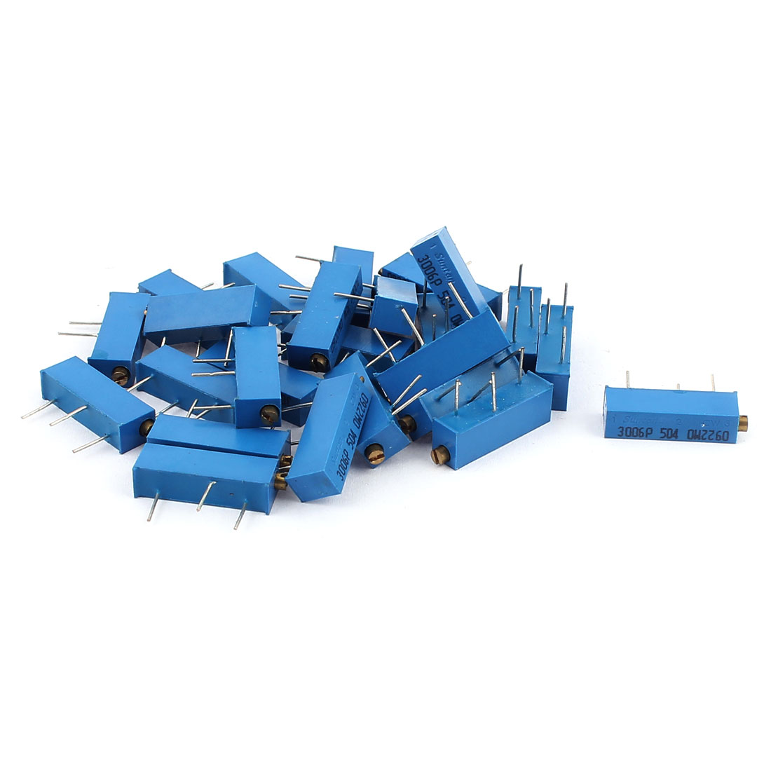 3006P-504 Precision 500K Ohm Multiturn Variable Resistor 25 Pcs
