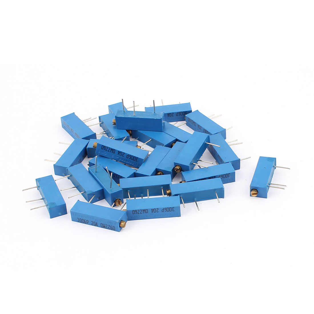 3006P-204 Precision Trimpot 200K Ohm Multiturn Variable Resistor 25 Pcs