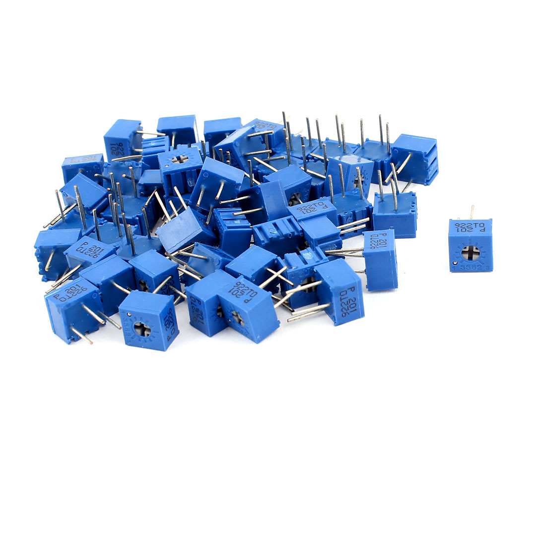 50Pcs Adjustable Potentiometer Trimmer Variable Resistor 3362P-104 100K Ohm