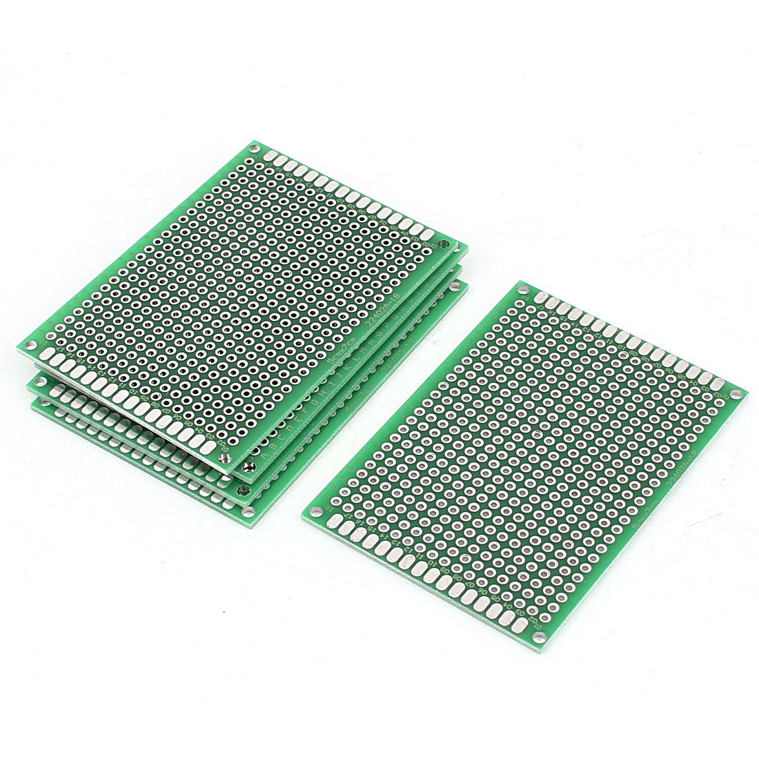 5cm x 7cm Electronic DIY Prototype Paper Double Side PCB Universal Board 5Pcs