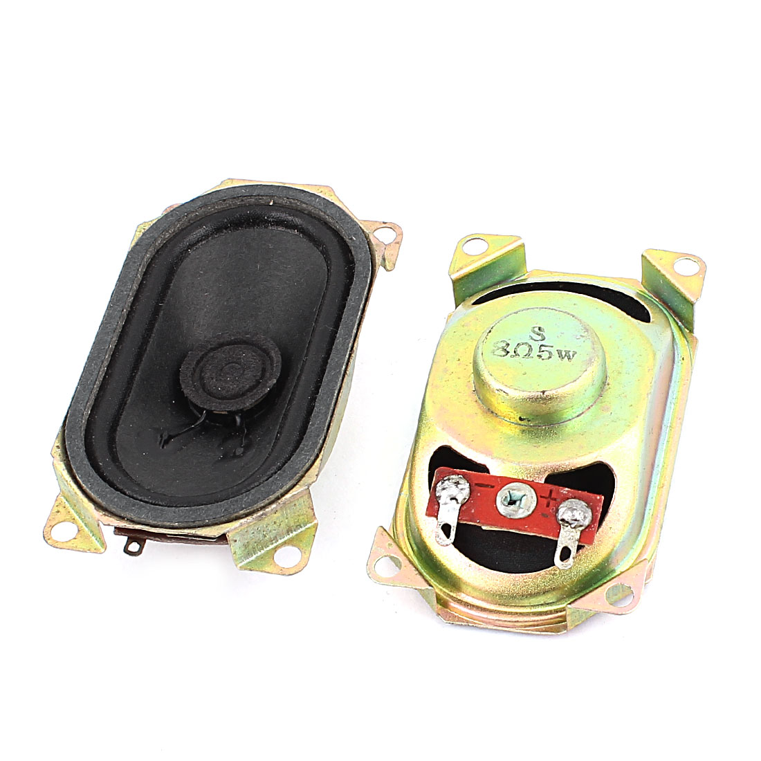 5W 8 Ohm Internal Magnet Speaker Loudspeaker 4 x 7 x 2cm 2Pcs