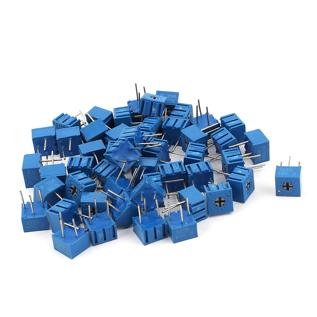 50Pcs Adjustable Potentiometer Trimmer Variable Resistor 3362P-201 200 Ohm