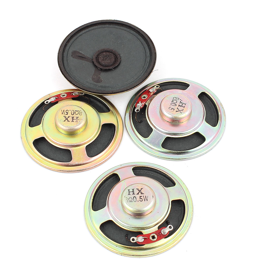 0.5W 8 Ohm 57mm Diameter Internal Magnet Speaker Loudspeaker 4Pcs