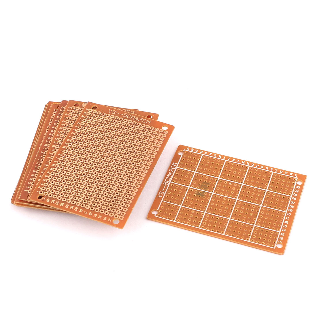 5cm x 7cm Electronic DIY Prototype Paper Single Side PCB Universal Board 10Pcs