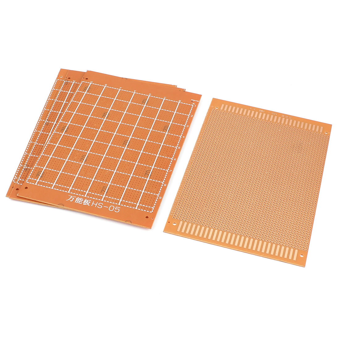 12cm x 18cm Electronic DIY Prototype Paper Double Side PCB Universal Board 4Pcs