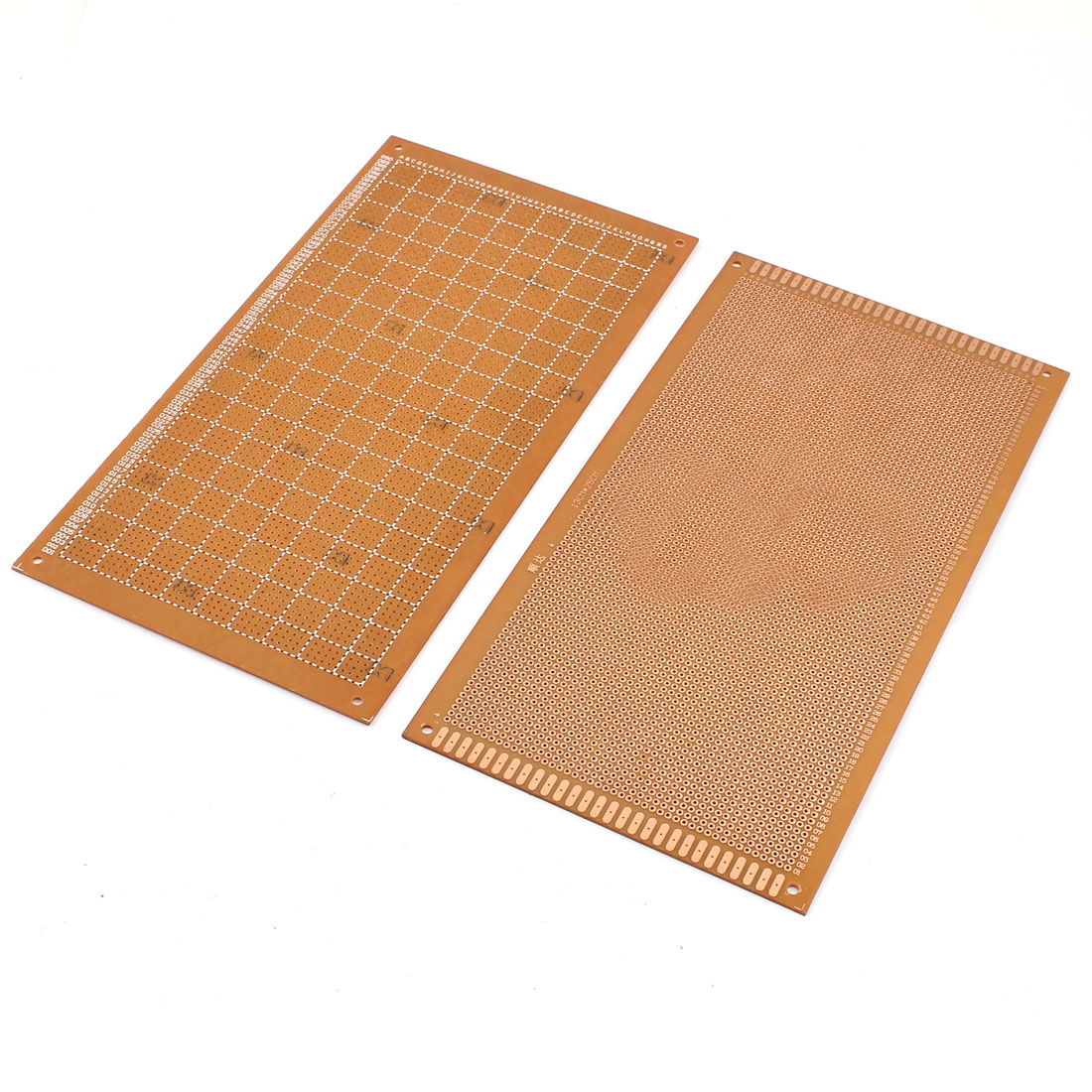 2Pcs 13 x 25cm Electronic DIY Prototype Paper Single Side PCB Board