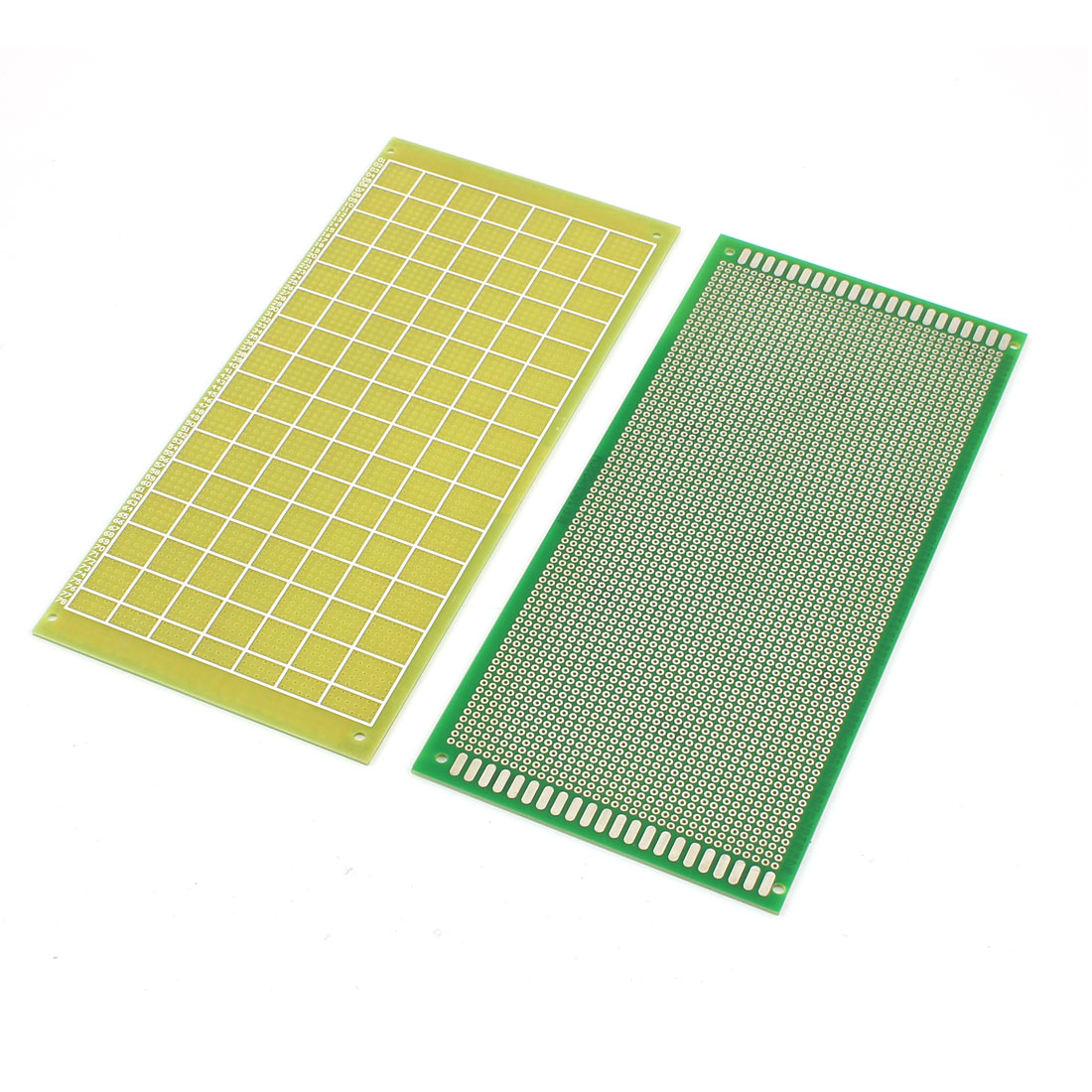 2Pcs 10cm x 22cm Electronic DIY Prototype Paper Single Side PCB Universal Board