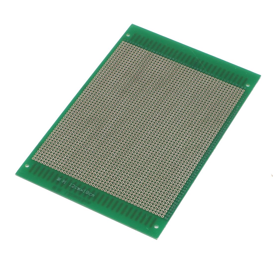 12cm x 18cm Electronic DIY Prototype Paper Double Side PCB Universal Board