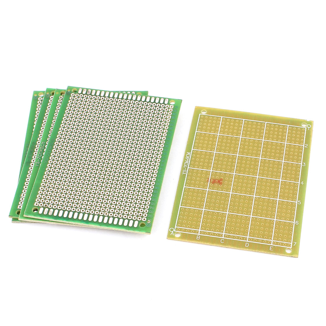 7cm x 9cm Electronic DIY Prototype Paper Single Side PCB Universal Board 5Pcs