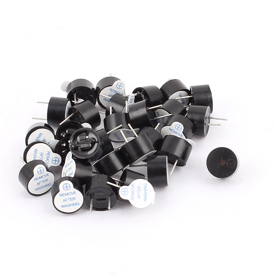 30Pcs Industrial Electronic Electromagnetic Continuous Sound Buzzer 9x5mm