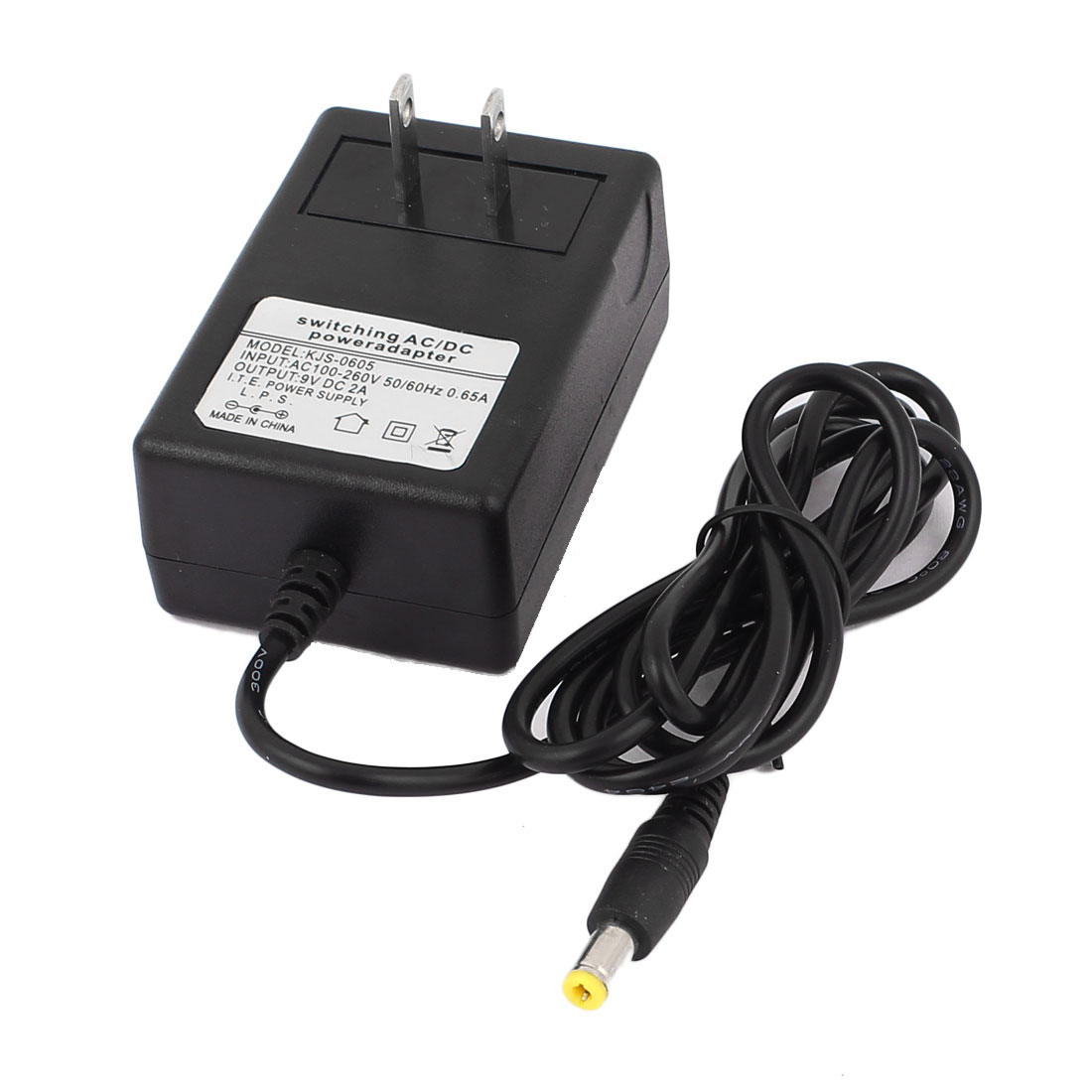 US Plug AC 100-260V to DC 9V 2A 5.5 x 2.1mm Power Supply Adapter Charger