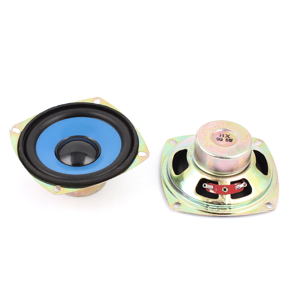 5W 4 Ohm 75mm Diameter Internal Magnet Speaker Loudspeaker 2Pcs