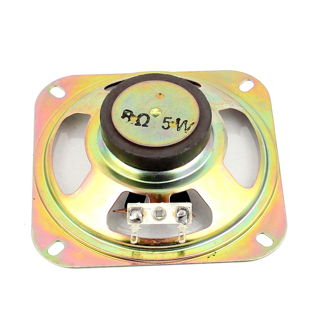 5W 8 Ohm External Magnet Speaker Loudspeaker 10 x 10 x 3cm