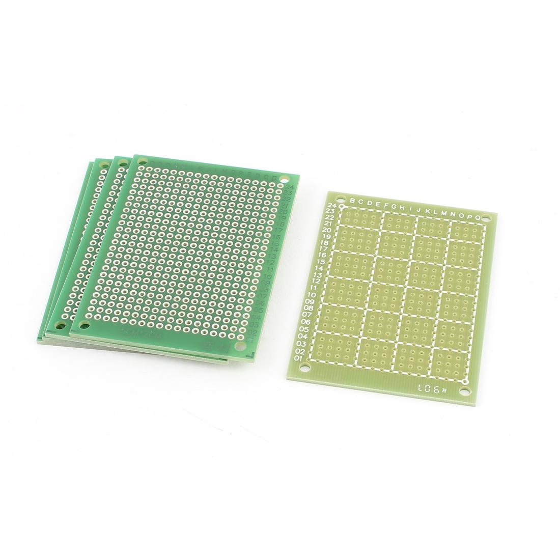 5cm x 7cm Electronic DIY Prototype Paper Single Side PCB Universal Board 5Pcs