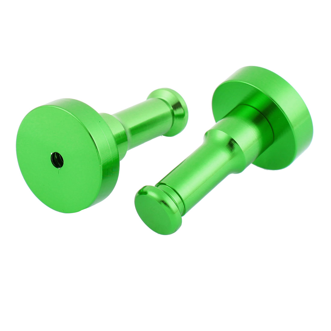 Bedroom Bathroom Towel Clothes Coat Aluminum Holder Hook Wall Hanger Green 2pcs