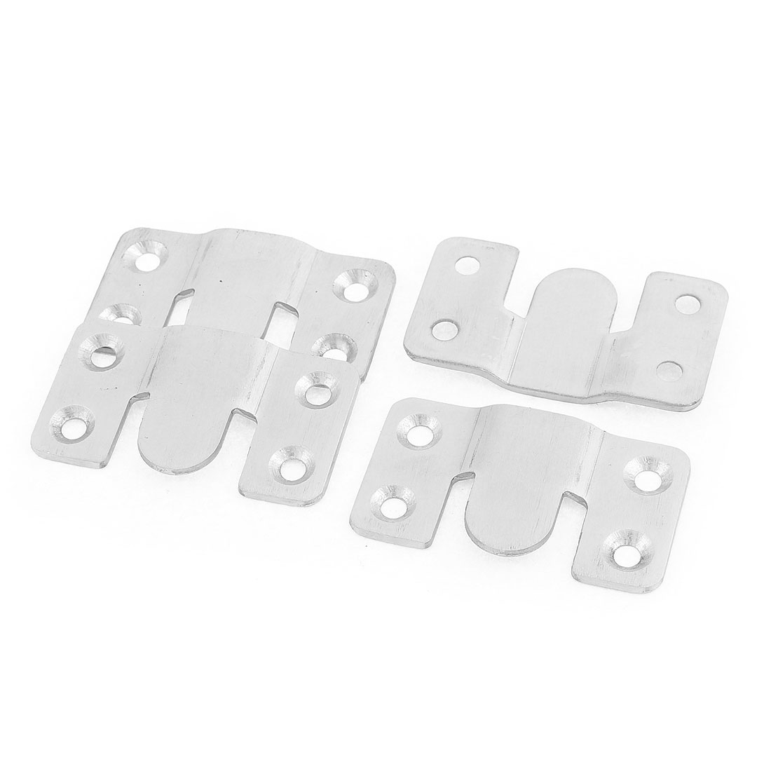 Furniture Sofa Photo Frame Interlock Bracket Joint Connector Hanging Hook 4 Pcs