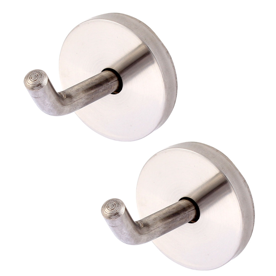 Wall Mount Coat Towel Hanging Hook Hanger 40 x 47mm 2PCS