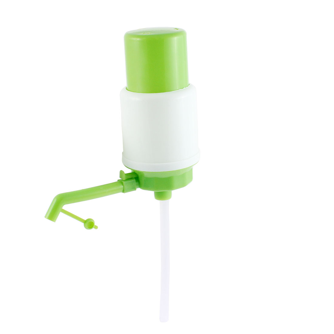 Household Plastic Hand Press Bottled Drinking Water Pump 19cm Height