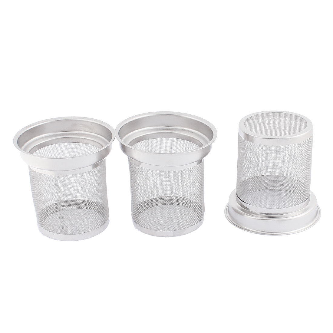 Tea Leaf Spice Stainless Steel Mesh Filter Loose Infuser Strainer 3PCS