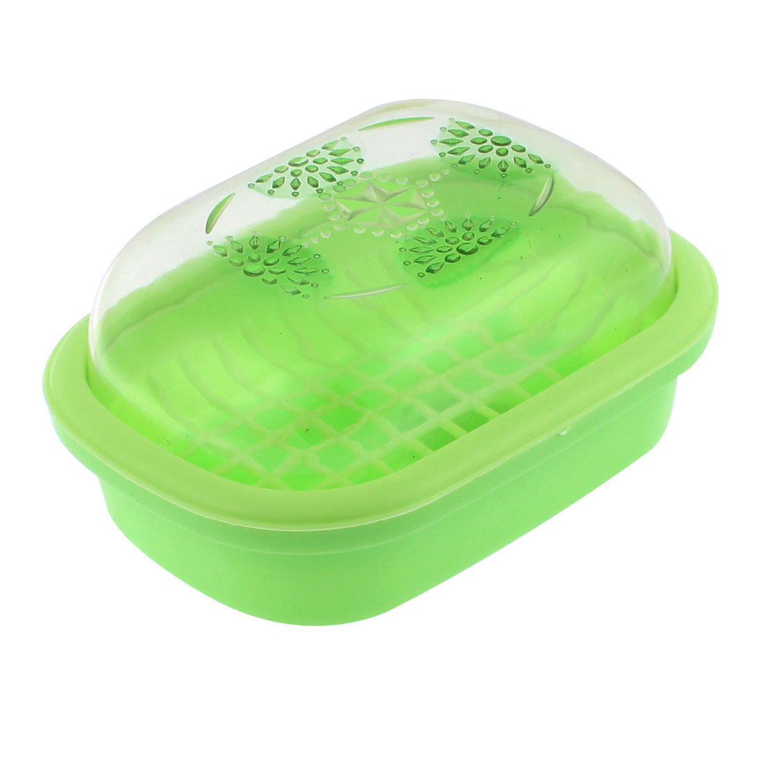 Home Travel Outdoor Camping Soap Dish Case Holder Box Green