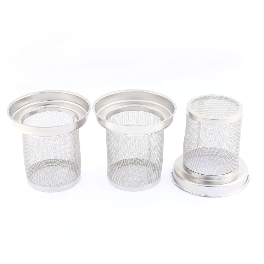Stainless Steel Tea Leaf Spice Mesh Infuser Filter Strainer 3PCS