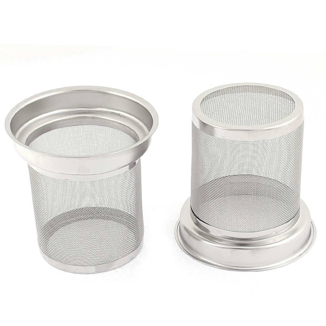 Tea Leaf Spice Stainless Steel Mesh Net Infuser Filter 2PCS