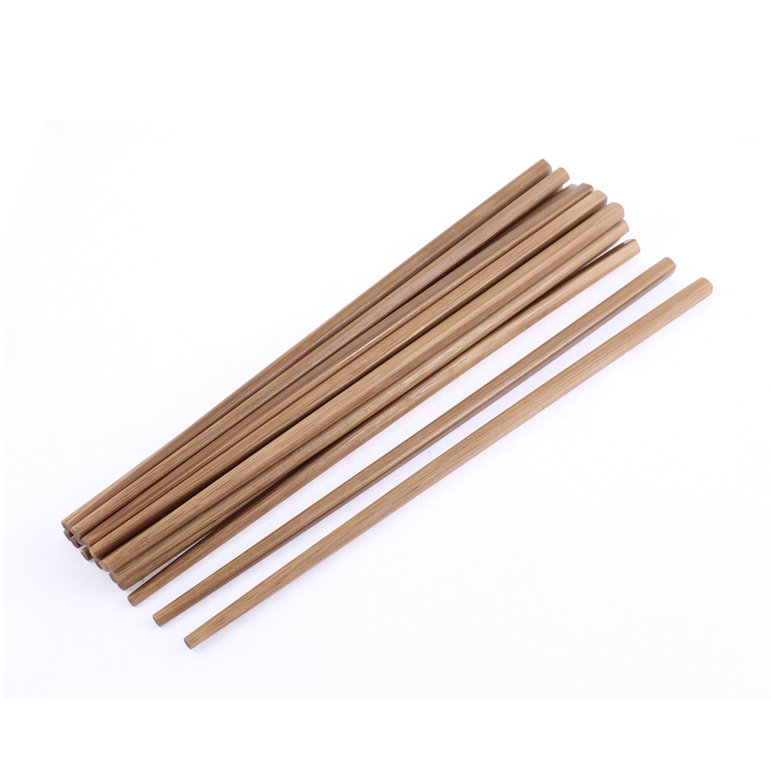 Kitchen Restaurant Chinese Style Hot-pot Bamboo Chopsticks Tableware 10 Pairs