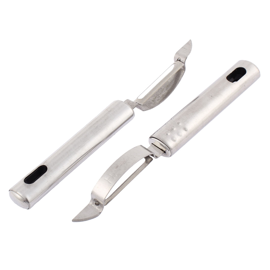 Kitchen Fruit Vegetable Peeler Cutter 19cm Length 2PCS