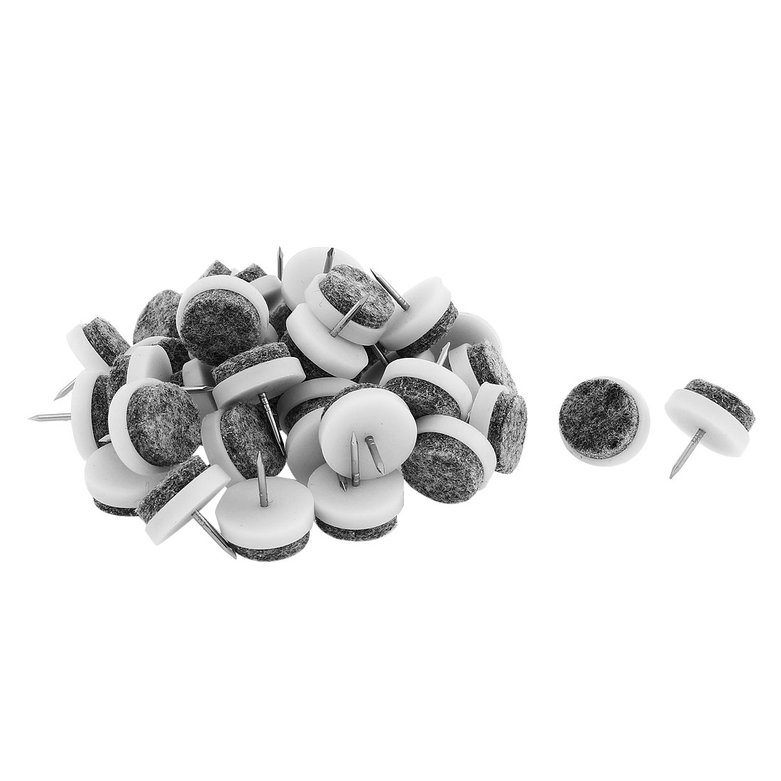 Furniture Table Feet Leg Nail Protectors 20mm Dia 40PCS