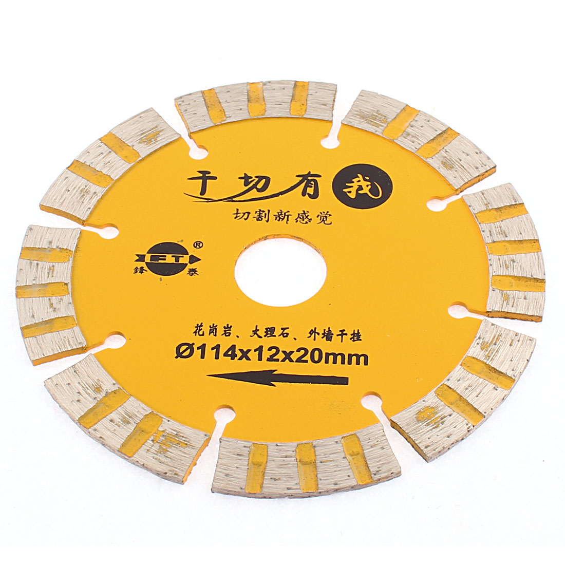 114mm x 20mm Circular Diamond Grinding Polishing Saw Cutter Disc Wheel