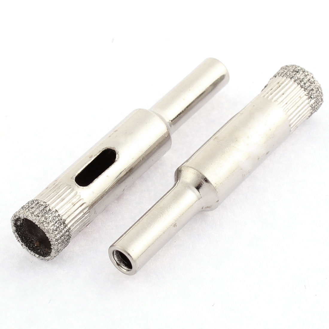 Glass Granite 10mm Cutting Dia Diamond Coated Hole Saw Drill Bit 20pcs