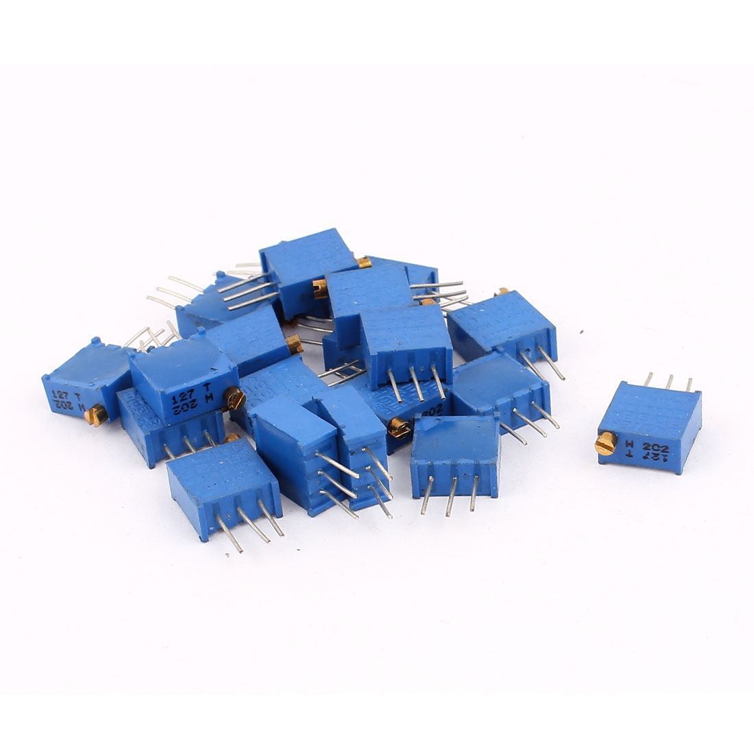 20 Pcs 3296W 2K ohm Multiturn Potentiometer Pot Variable Resistor