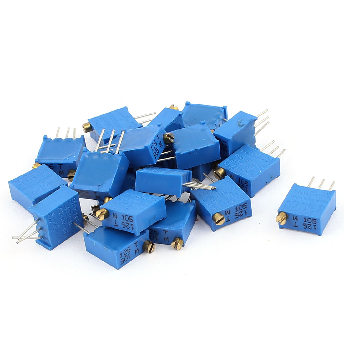 20 Pcs 3296W 1M ohm Multiturn Potentiometer Pot Variable Resistor