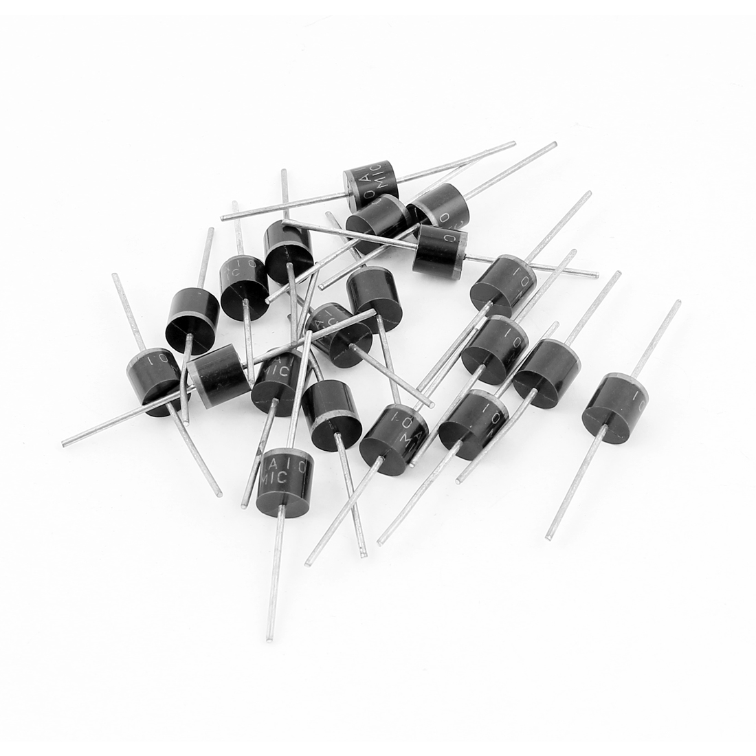 10A 1000V 10A10 Cylindrical Axial Leaded Rectifier Schottky Diodes 20 Pcs
