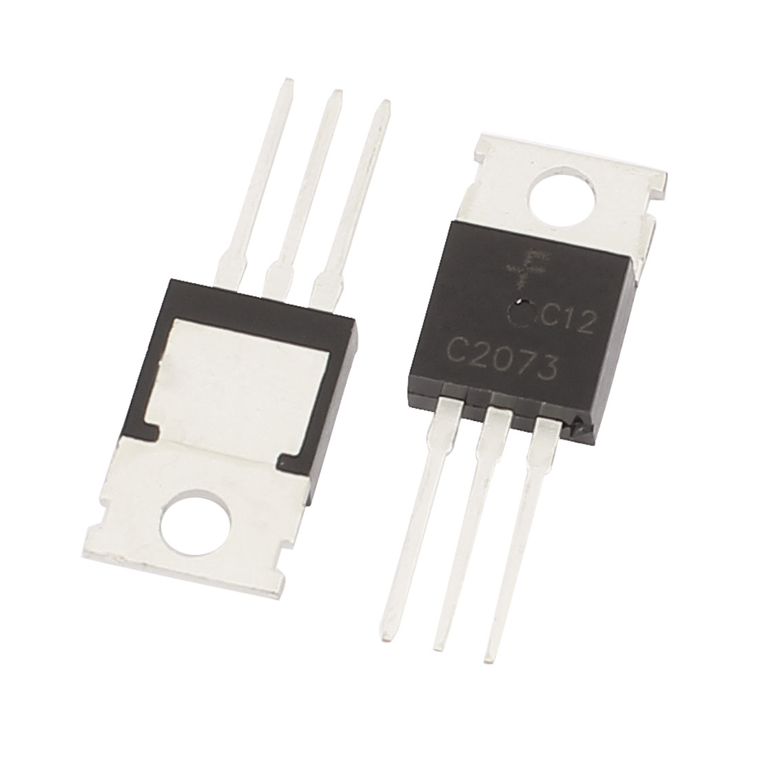 2 Pcs 150V 1.5A 3 Pin Terminals C2073 NPN Power Transistor TO-220