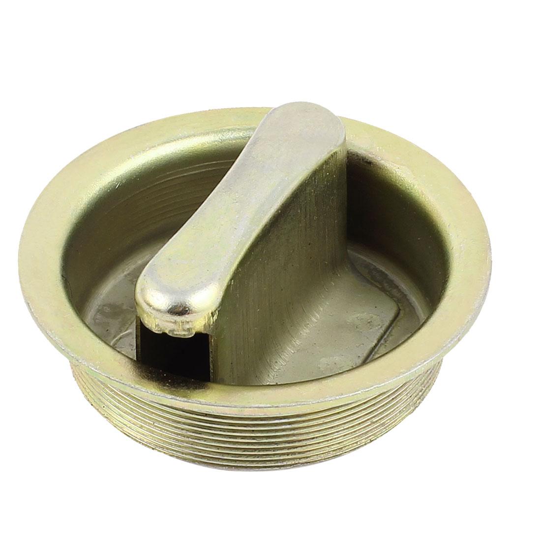 Auto Car Machine Generator Engine Metal Gas Oil Filler Fuel Tank Cap Cover 60mm Thread Dia