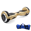 "Smart Two 6.5"" Wheels Self Balancing Electric Balance Scooter Bumper Strip Mini Intelligent Hoverboard Hover Board Electronic Unicycle Champagne"