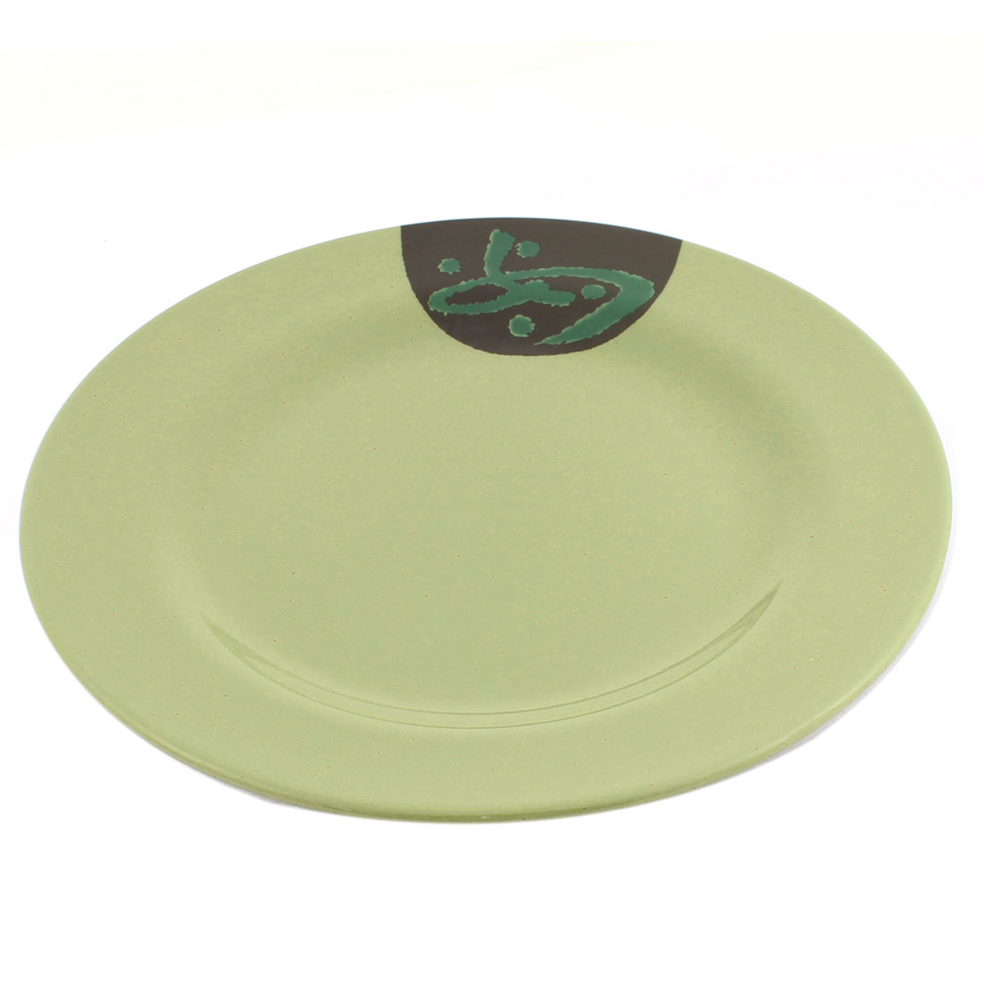 Plastic Round Shape Tableware Dinner Plate 10 Inch Dia