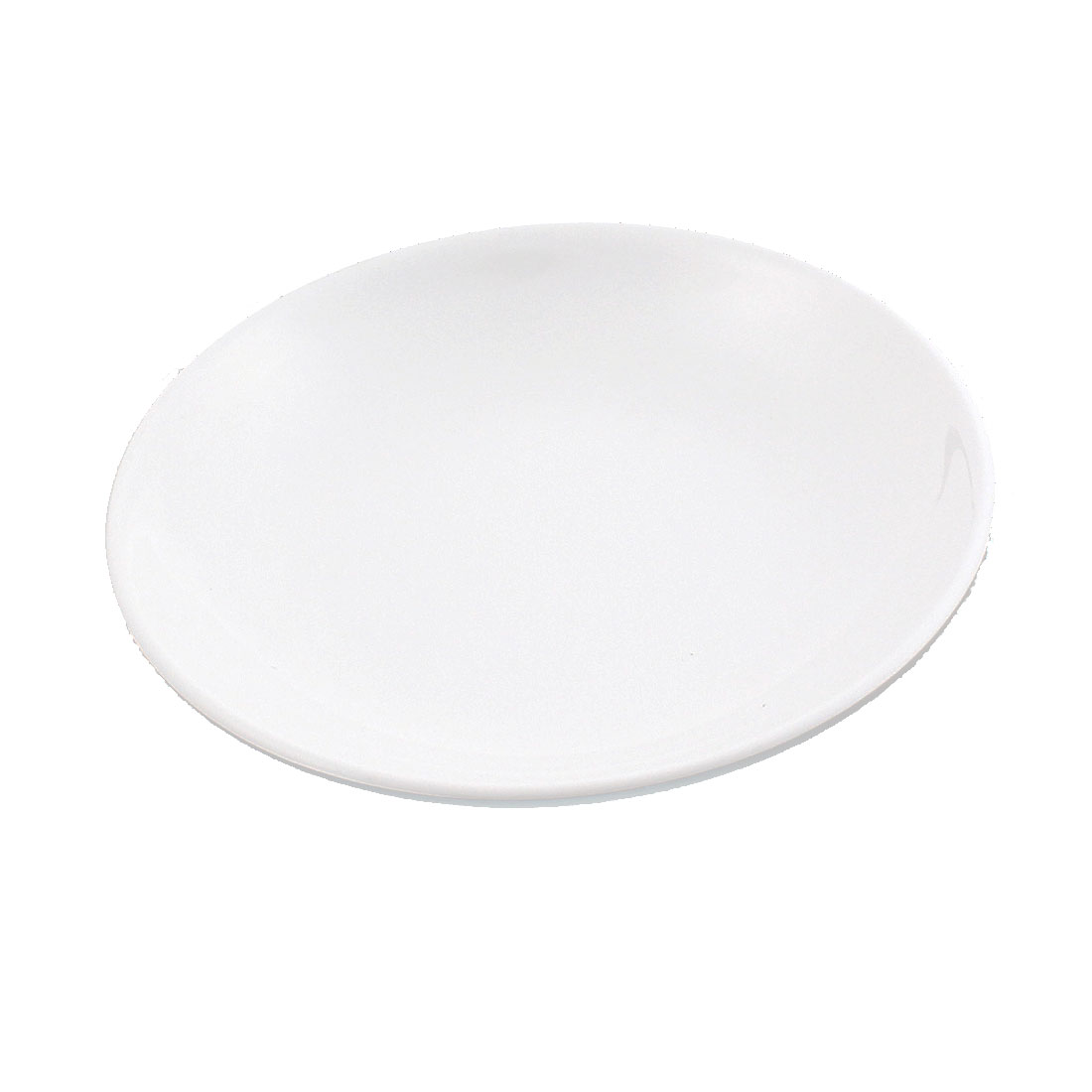 Food Oil Soy Sauce Wasabi Round Shape White Dish Plate 115mm Dia