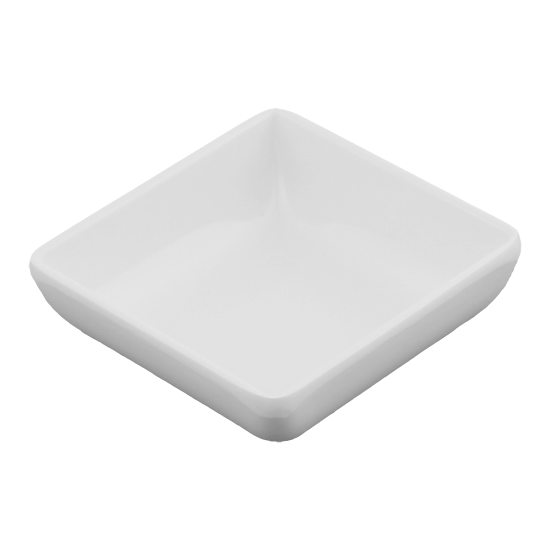 Square Shape Soy Sauce Wasabi Dipping Dish Plate