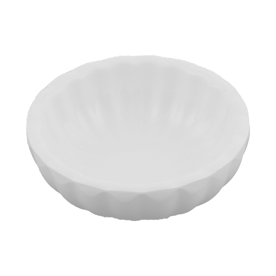 Round Shape Sushi Soy Sauce Dipping Dish Plate 72mm Dia