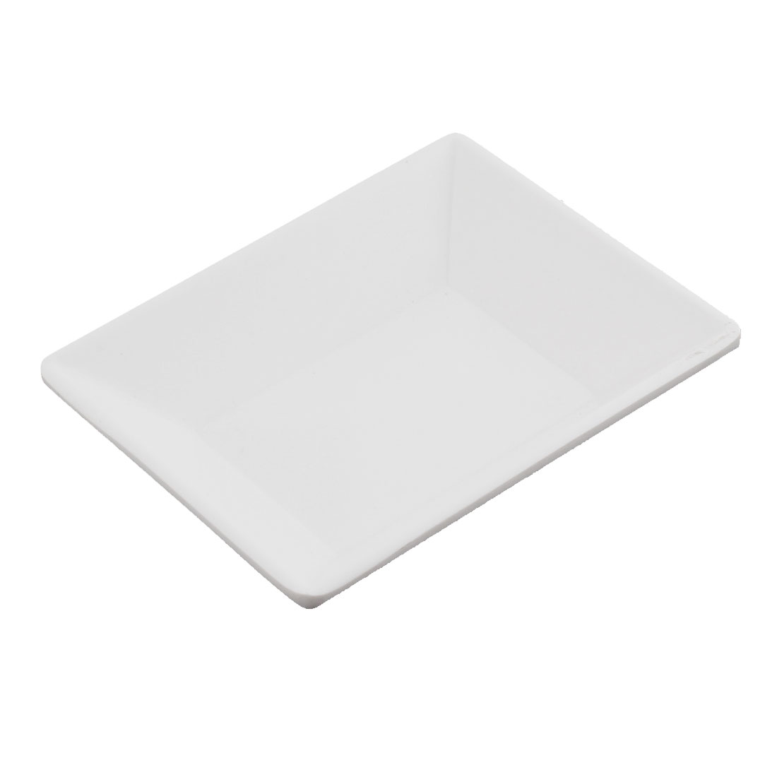 Rectangle Shape Sushi Soy Sauce Dipping Dish Plate 93 x 80 x 29mm