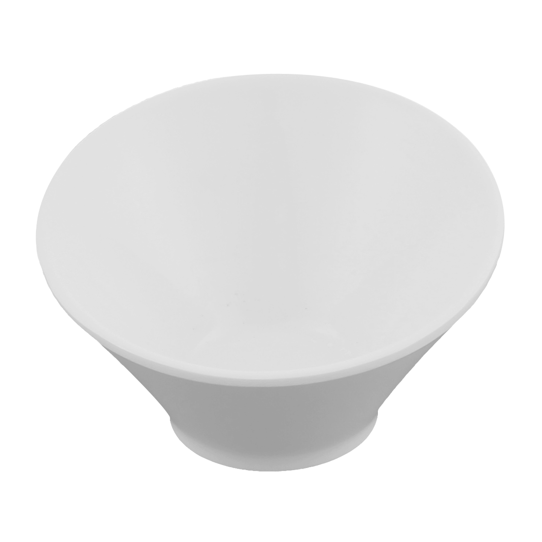 Home Restaurant Tall Slant Bowl Soy Sauce Dish White