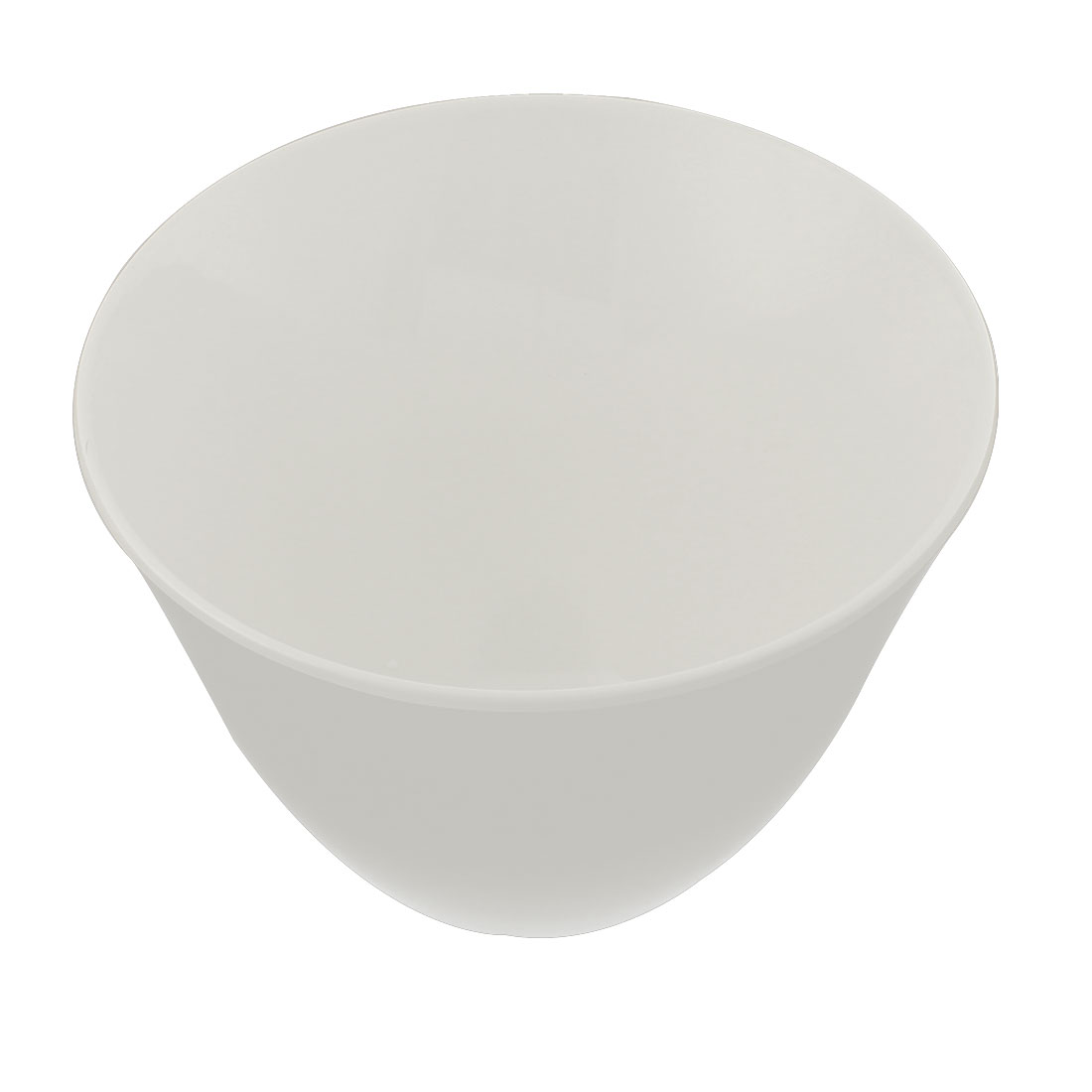 Home Restaurant Plastic Tall Slant Cut Bowl 20cm x 8.5cm
